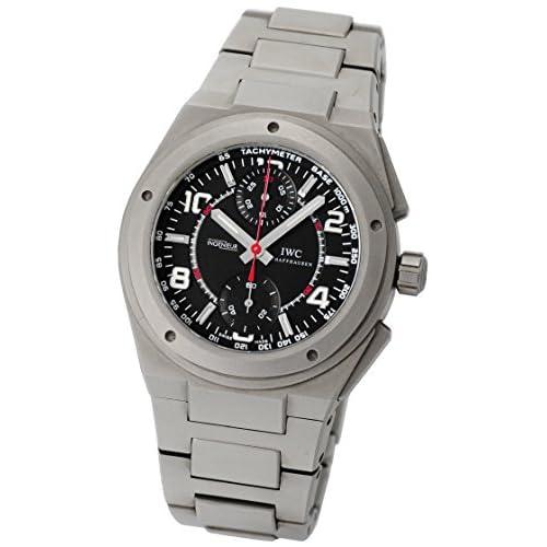 [アイダブリューシー] IWC 腕時計 インヂュニア クロノグラフ AMG IW372503 チタン ブラック文字盤 [中古品]