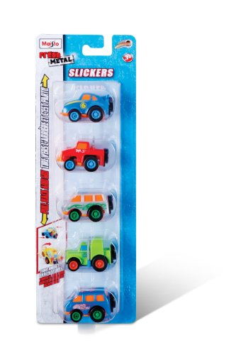 Maisto Fresh Metal Slickers Diecast Vehicles (5-Pack)