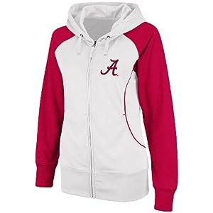 Alabama Crimson Tide Ladies 2012 Vault Full Zip Performance Sweatshirt by Colosseum