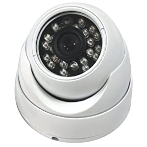 Evertech Cctv Security Camera - 700 TVL, Day Night Vision Ir Home Security Camera Vandal Proof Indoor/outdoor 1/3