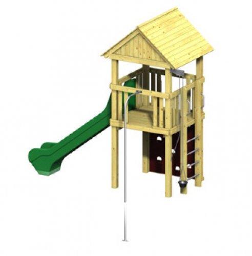 Spielturm Winnetoo Pro Variation 3 - öffentliche Spielanlagen