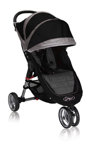 Baby Jogger City Mini Single, Black/Gray