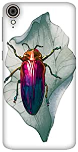 The Racoon Lean It Bugs Me hard plastic printed back case / cover for HTC Desire 828