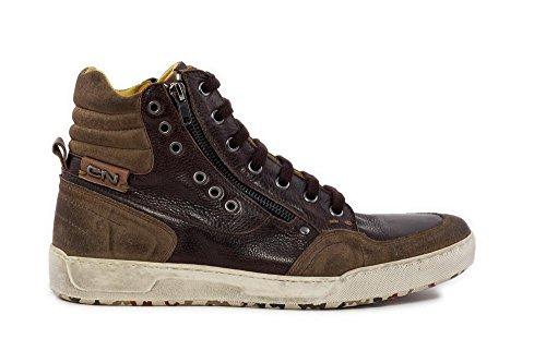 Cafè Noir QL102 sneaker lacets fermeture éclair externe