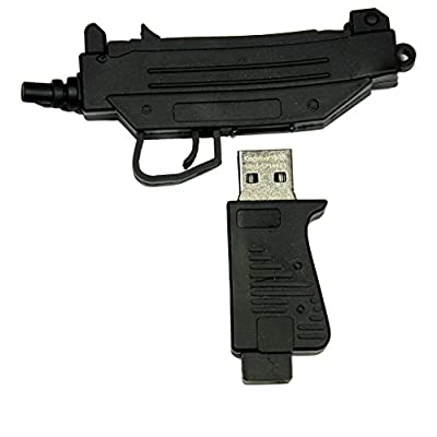 Pen Drive Mini Uzi Gun Shape 16 GB USB 2.0 Pen Drive ZT14047