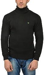 UV&W Men's Cotton Sweater (WSSF45 BLACK, XL)