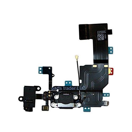 i-Beans(TM) iPhone 5専用 ドックコネクタ リペアパーツ  修理交換用部品 ブラック【全2色】 (5742-1)