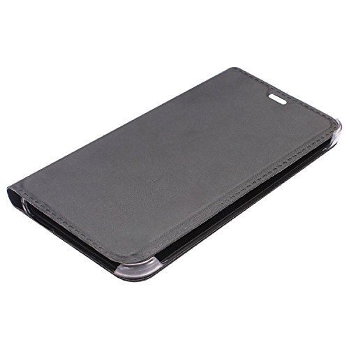 hot sale online 798b9 e1216 SDO™ Designer Textured Leather Finish Genuine Flip Cover for Lenovo Vibe K4  Note - Black