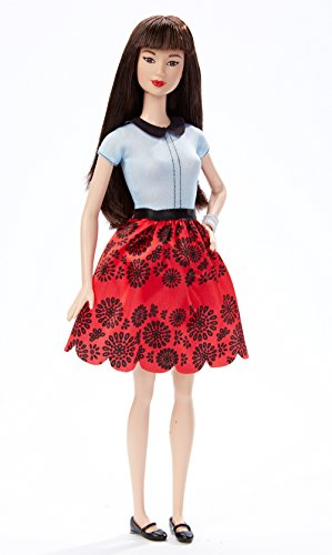 Barbie Fashionistas Doll 19 Ruby Red Floral - Original (Red Barbie compare prices)