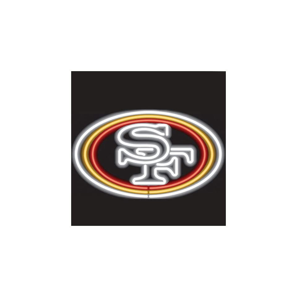 Imperial Officially Licensed NFL Merchandise Neon Sign, San Francisco 49ers