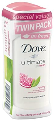 Dove go fresh Revive Antiperspirant/Deodorant, Twin Pack, 5.2 Ounce