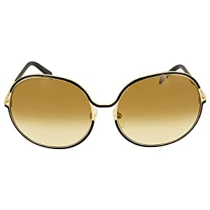 tom ford s m ft0118 shiny gold black brown
