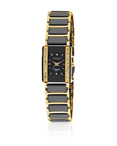 Akribos XXIV Orologio con Movimento Giapponese Women'S Rectangular Ceramic Quarz Bracelet Watch  18....