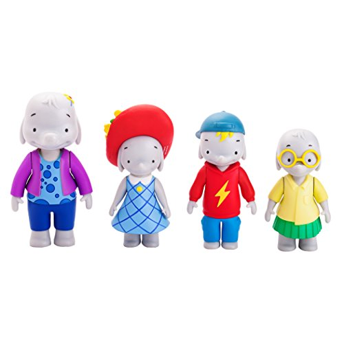 Ella the Elephant - Ella and Friends Figures (4-Pack) - 1