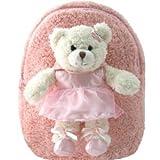 Kreative Kids Backpack Ballet Bear Pink