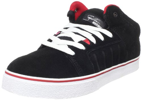 Etnies Men's Sheckler 5 Fusion Black/Red/White Trainer 4102000086 8 UK