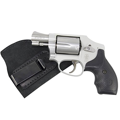 The Ultimate Suede Leather IWB Holster - Made in USA - Right Handed - Fits Most J Frame Revolvers - Ruger LCR - Smith & Wesson Body Guard - Taurus & Most .38 Special Type Guns (Bodyguard Gear compare prices)