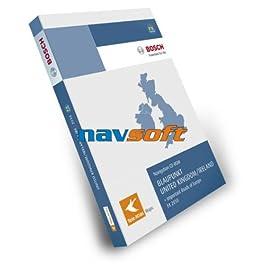 Tele Atlas CD Großbritannien / Irland 2011 per TP FX Seat media system 2.0 Skoda RNS A