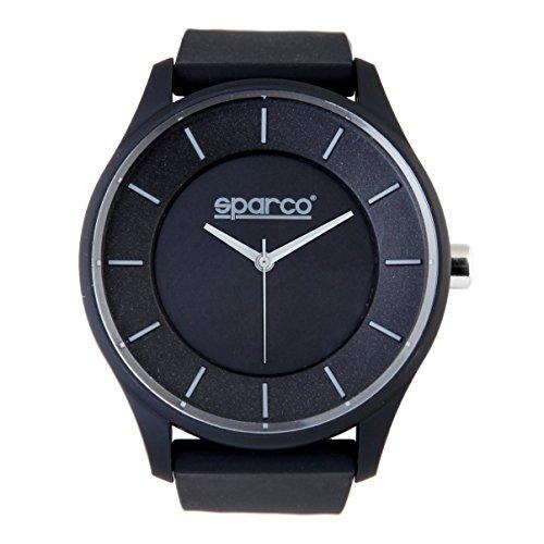 sparco-ayrton-montre-bracelet-mixte-grey
