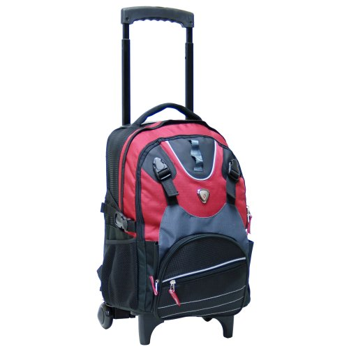 CalPak-Champion-Black-18-inch-Rolling-14-inch-Laptop-Backpack-Deep-Red-One-Size