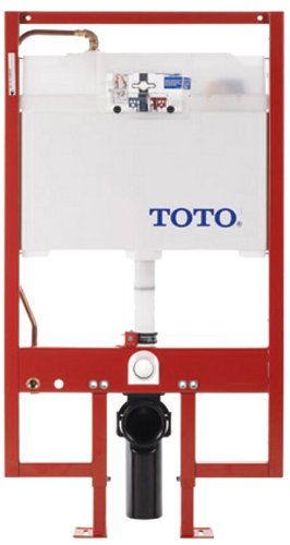 Toto WT152M#01 In-Wall Tank System, 1.6GPF and 0.9-GPF, Cotton