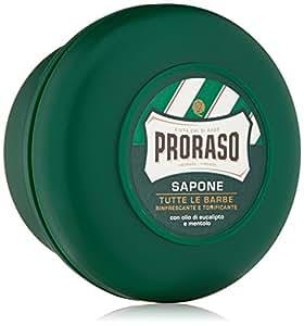 Proraso Shaving Soap, Eucalyptus & Menthol, 5.2 oz (150 ml), New Formulation
