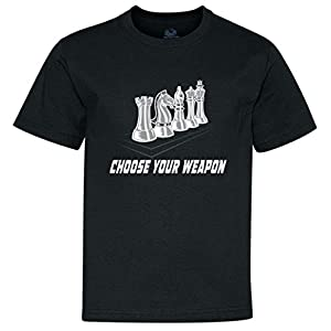 Choose Your Weapon Chess Youth T-Shirt