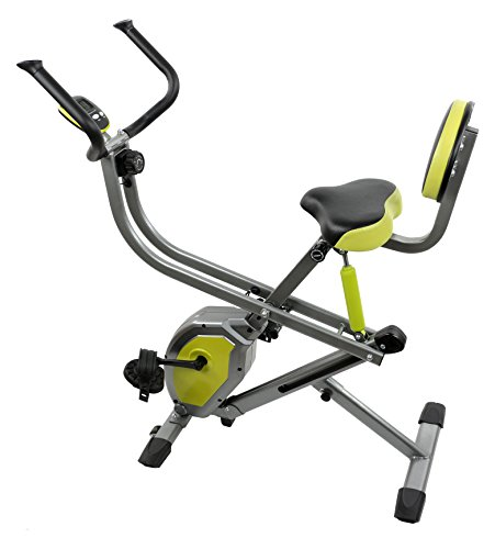 VX01 David Douillet-Cyclette magnetica, colore: grigio