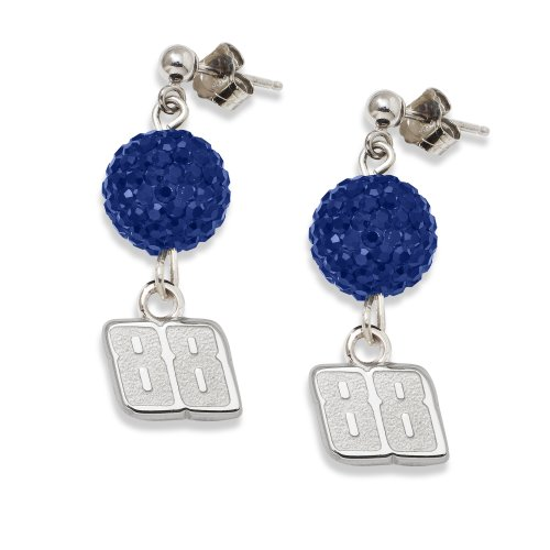 NASCAR Dale Earnhardt Jr LogoArt Ovation Earrings