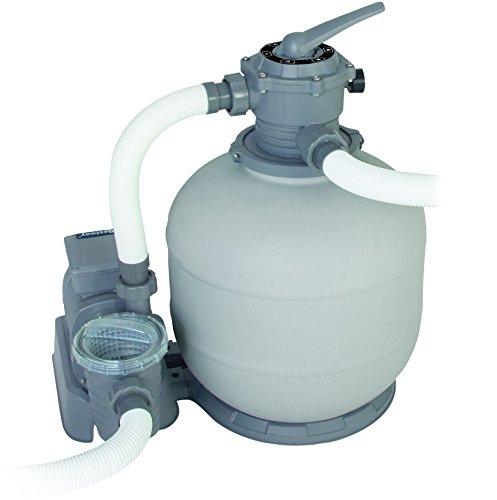 Bestway 58366 pompa filtro a sabbia da l h per for Piscina goma