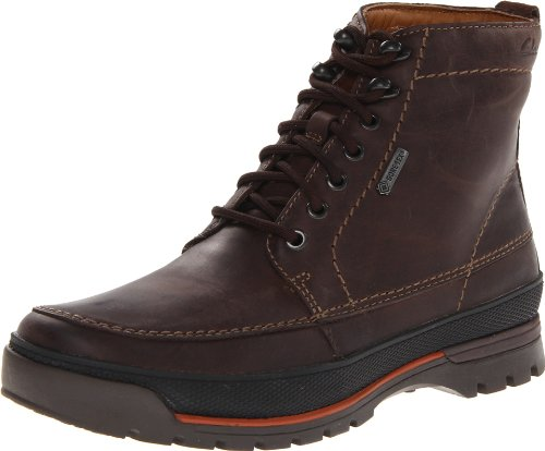 Clarks Men's Narly Peak GTX Boot,Brown Leather,9 M US