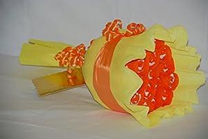 Ramo Flower pañales - amarillo/naranja de Baby Tarta