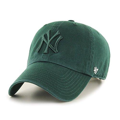 47-Brand-Relaxed-Fit-Cap-MLB-New-York-Yankees-dunkelgrn