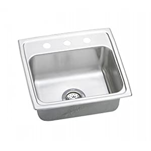 Elkay PSR1918-2 Kitchen Sinks - Single Bowl Kitchen Sinks Self Rimming