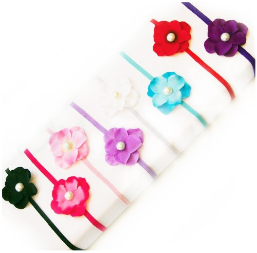 Ema Jane Centered Hydrangea Headbands