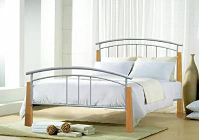 4ft6 Double Jose Metal Bed