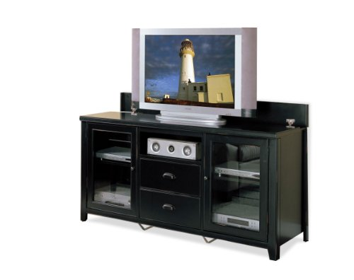 Tribeca Loft Tall Console For Flat Panel Televisions - Ewas Black