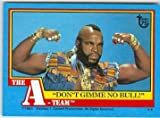 Mr T trading card (The A team) 2013 Topps #82 75th Anniversary