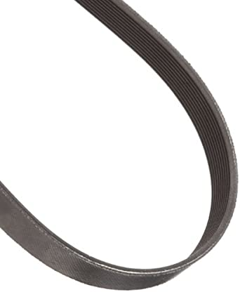 "Goodyear Engineered Products Poly-V V-Belt, J Profile, Ribbed, 10 Rib, 0.092"" Width"