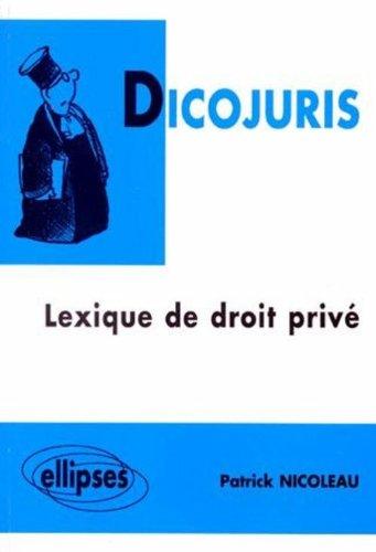 Dicojuris : Lexique de droit privé