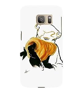 EPICCASE Supermodel Mobile Back Case Cover For Samsung Galaxy S7 Edge (Designer Case)