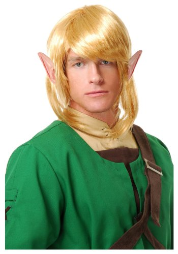 Elf Warrior Costume Wig