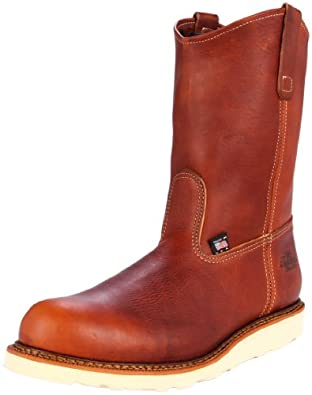 Thorogood Men's Wellington Non-Safety Wedge Work Boot,Tobacco,13 D US