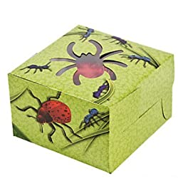 12 Bug And Insect Cupcake Boxes