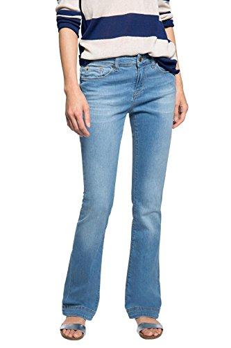 ESPRIT mit schöner Waschung-Pantaloni Donna,    Blau (BLUE MEDIUM WASH 902) W27 / L32