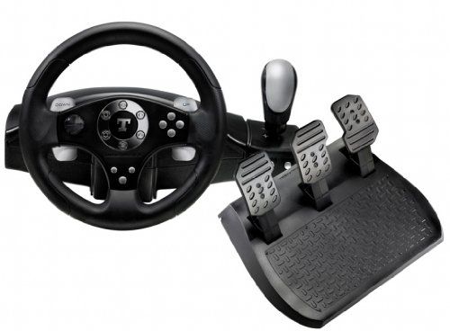 Amazon.com: Thrustmaster RGT Force Feedback Clutch Wheel For PC ...
