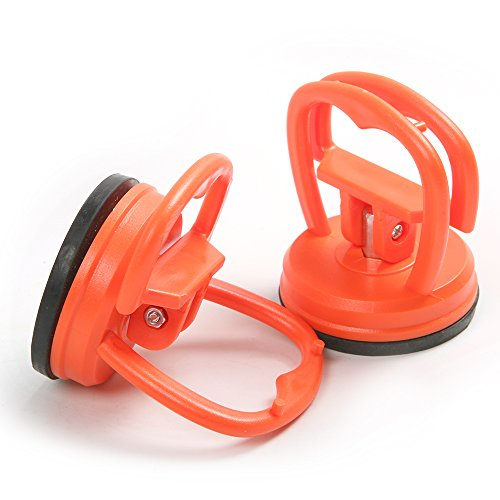 Atoplee 2 Inch 58mm Single Head Suction Cup for Glass, Dent, 2 Pieces