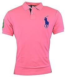 Polo Ralph Lauren Men's Custom Fit Mesh Big Pony Shirt