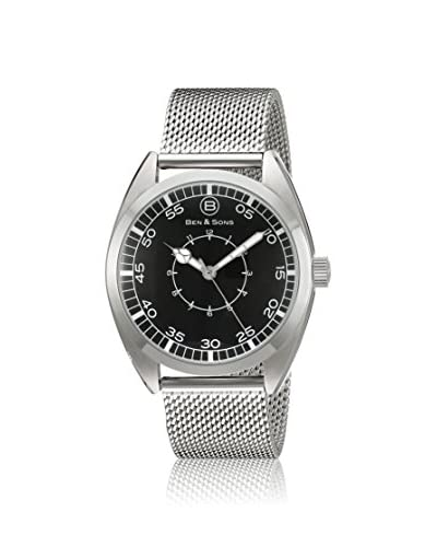 Ben & Son's Men's BS-10014-022S Stainless Steel Watch