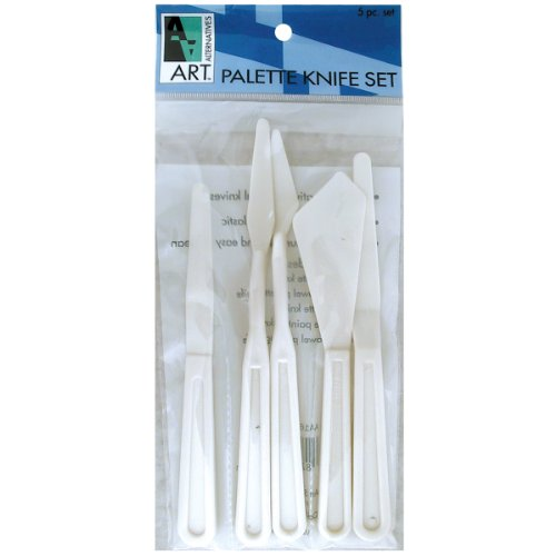 Art Alternatives Plastic Painting Knife Set-